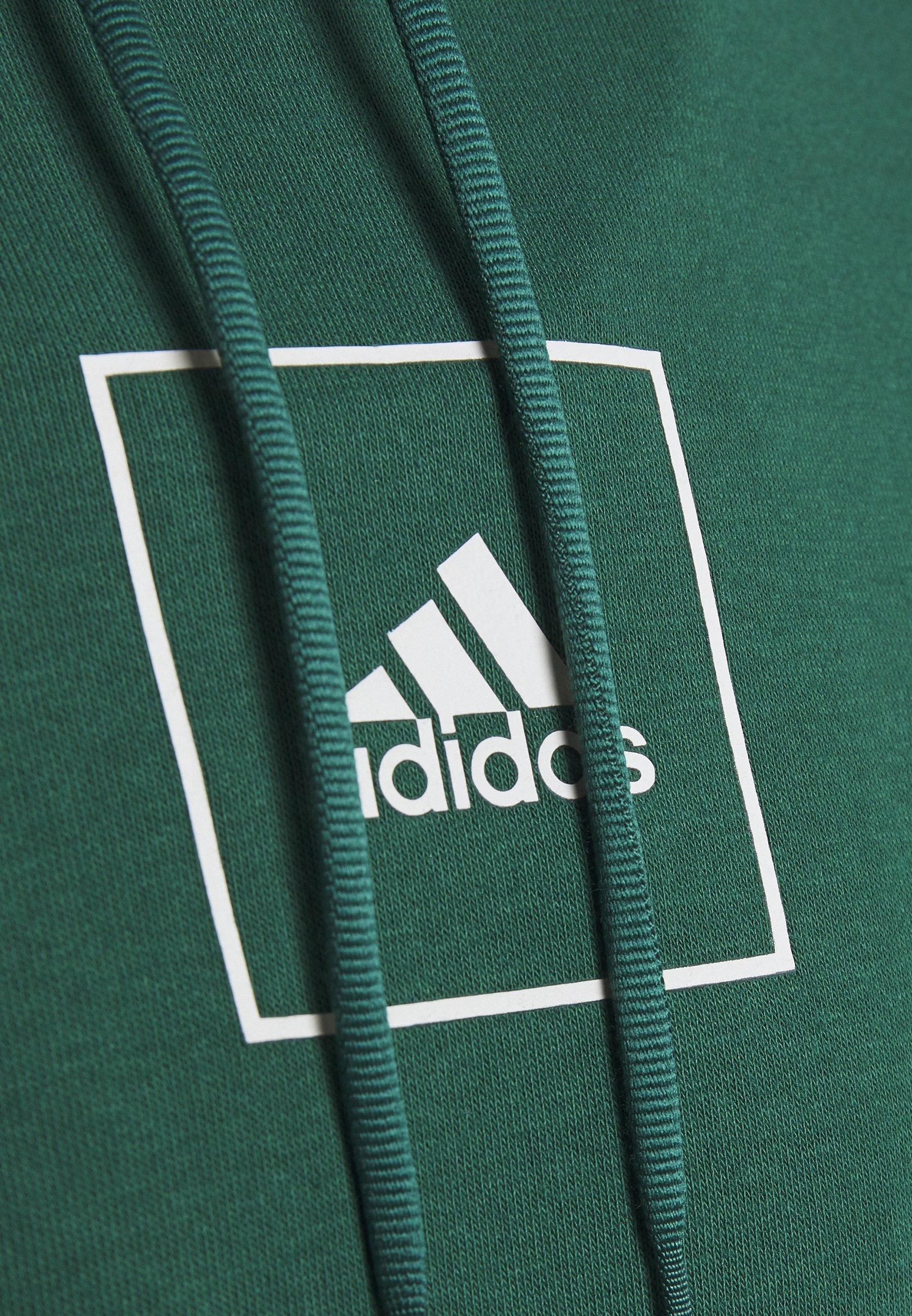 adidas Performance Sweat à capuche - green