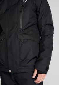 Wearcolour - ACE JACKET - Snowboardjakke - black - 4