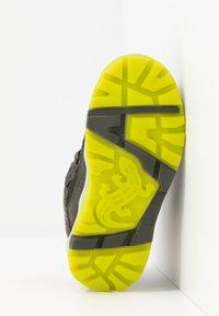 Lurchi - TALON - Winter boots - dark olive - 4