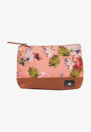 ELSIE - Wash bag - brushed pink palm