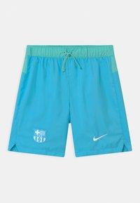 Nike Performance - FC BARCELONA - Urheilushortsit - lagoon pulse/tropical twist/white - 0