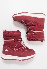 Viking - OKSVAL GTX - Zimní obuv - dark red/red - 0
