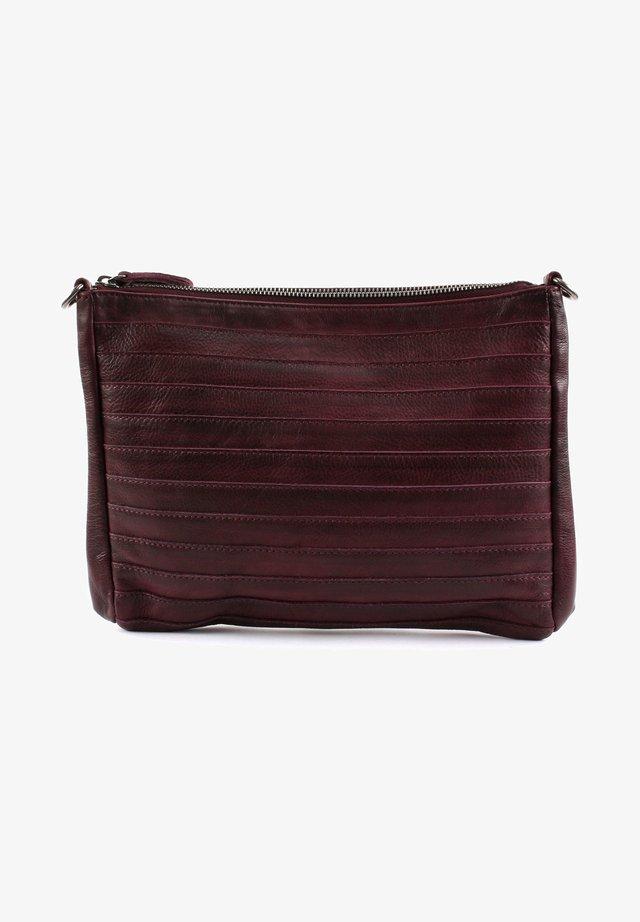 Across body bag - red wine