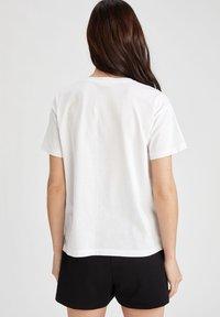 DeFacto - DISNEY - Print T-shirt - white - 2