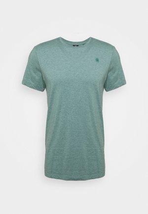 BASE-S R T S\S - Basic T-shirt - jungle htr