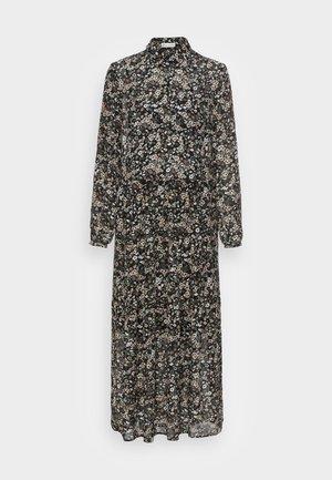 DRESS BOHEMIAN PRINT STYLE FEMININE VOLUME GATHERINGS - Robe longue - multi