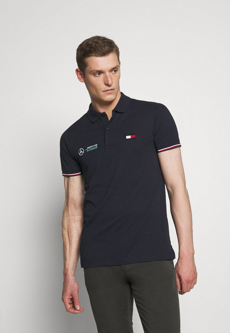 Tommy Hilfiger Tailored - LOGO - Polo shirt - blue