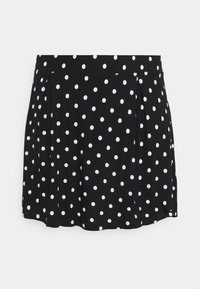 Even&Odd Curvy - 2 PACK - A-line skirt - black/white - 1