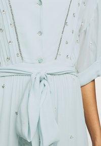 Temperley London - ABBEY DRESS - Společenské šaty - powder blue - 5