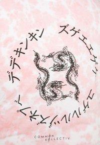 Common Kollectiv - RAGON TIE DYE - T-shirt z nadrukiem - pink - 4