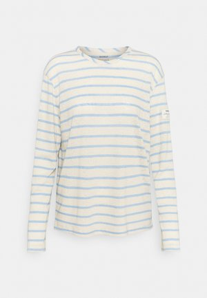 STRIPE LONG SLEEVE  - Long sleeved top - dark lavander