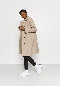 Didriksons - EMBLA COAT - Hardshell jacket - beige - 1