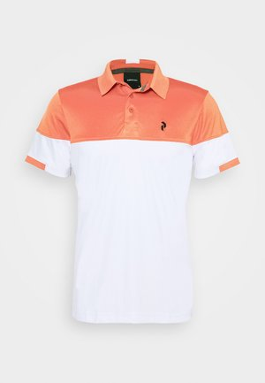 Polo shirt - clay red