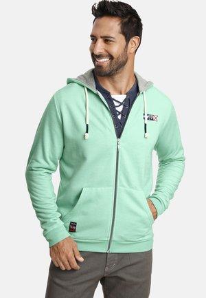 EDRIK - Zip-up hoodie - mint