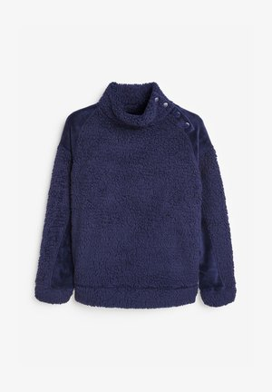 BORG FUNNEL NECK - Fleece jumper - blue