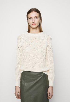 INGAGGIO MAGLIA COSTA INGLESE - Pullover - beige