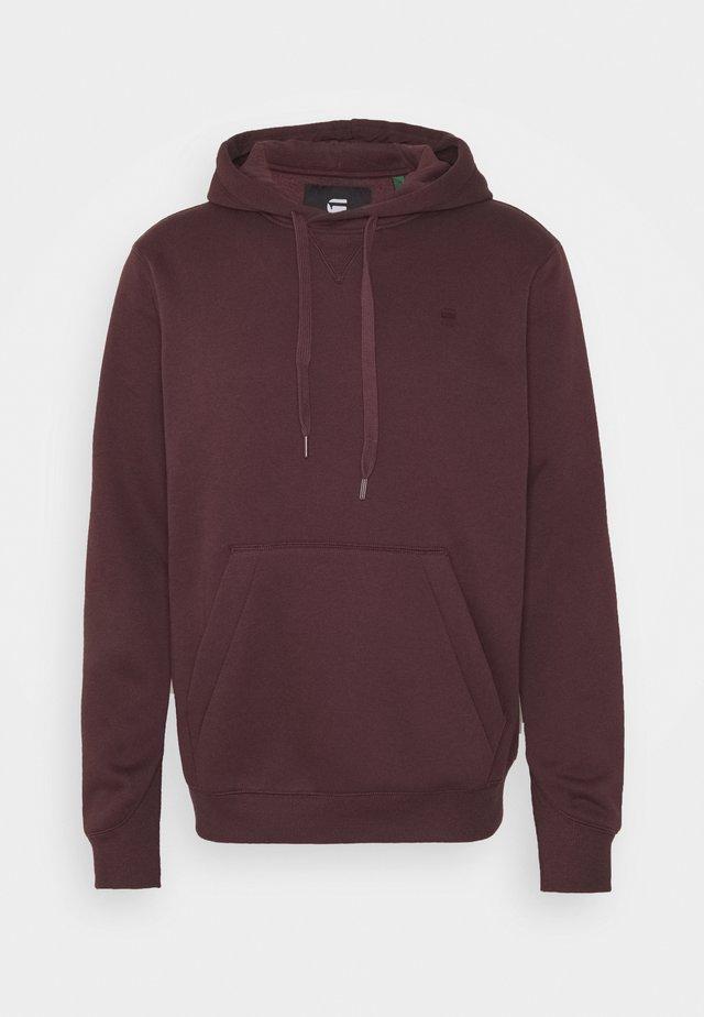 PREMIUM CORE hooded long sleeve - Hoodie - dk fig
