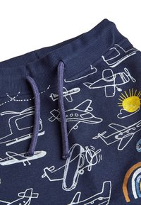 Next - NAVY AEROPLANE ALL OVER PRINT JOGGERS (3MTHS-7YRS) - Tracksuit bottoms - blue - 2