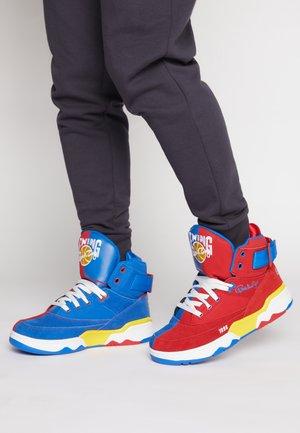33 X GHOSTFACE - Höga sneakers - chinese red/princess blue/lemon