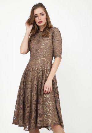 GLORIA - Cocktail dress / Party dress - braun