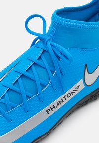 Nike Performance - PHANTOM GT CLUB DF TF  - Astro turf trainers - photo blue/metallic silver/rage green - 5