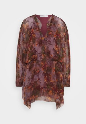 GARETH - Day dress - burgundy