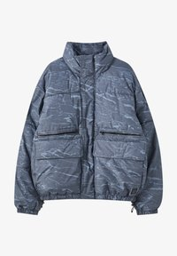 Winter jacket - mottled blue