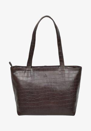 Shoppingväska - dark brown