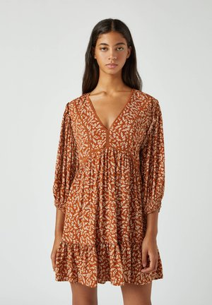 Day dress - camel