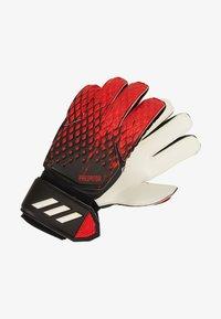 adidas Performance - PREDATOR - Goalkeeping gloves - black/actred - 1