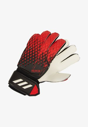 PREDATOR - Goalkeeping gloves - black/actred