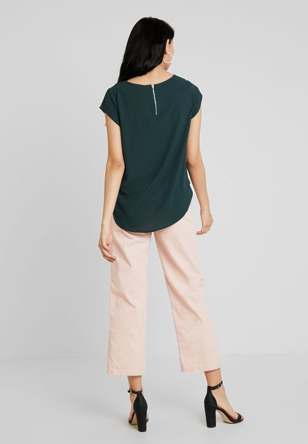 ONLY ONLVIC SOLID - T-shirt z nadrukiem - green gables/ciemnozielony LMOW