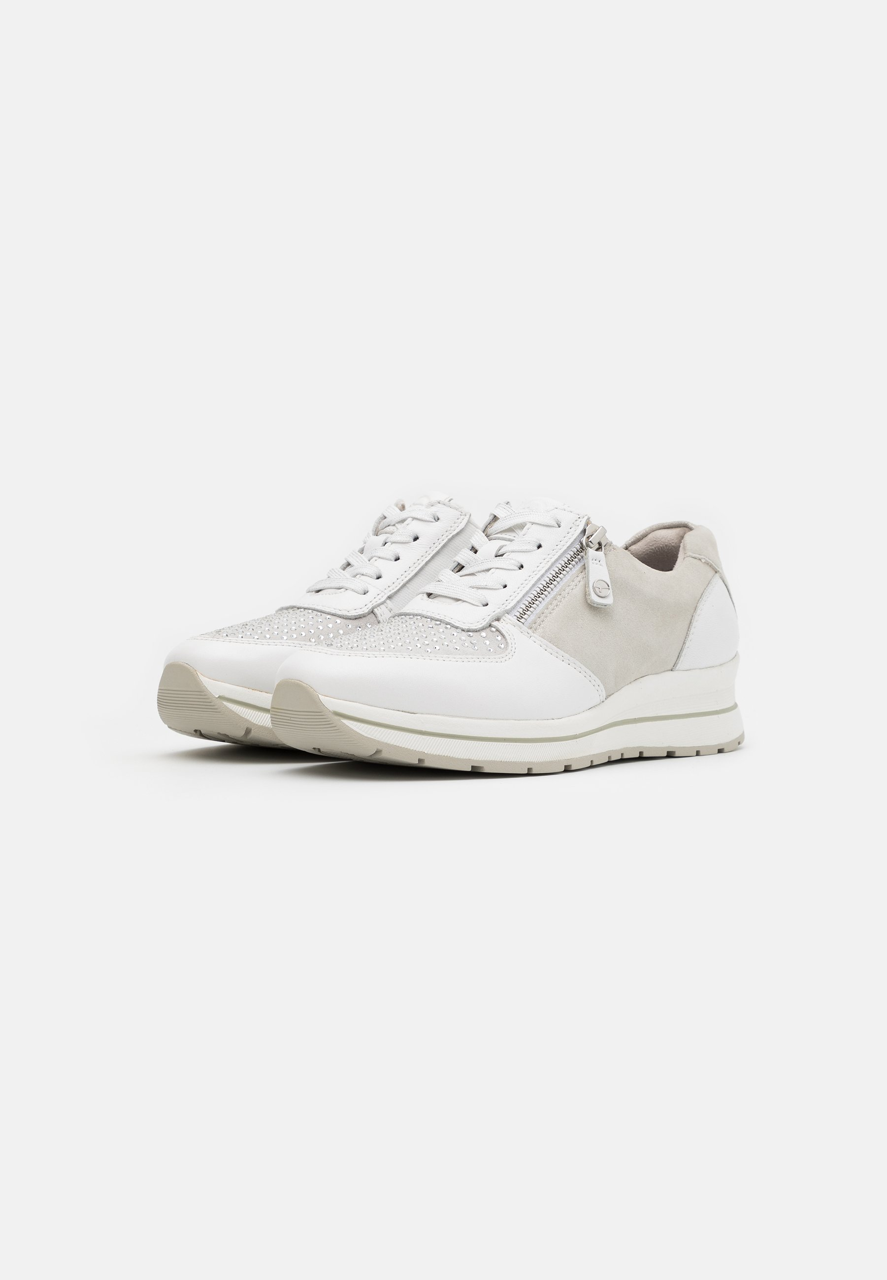 Tamaris Pure Relax LACE UP Sneaker low white/weiß
