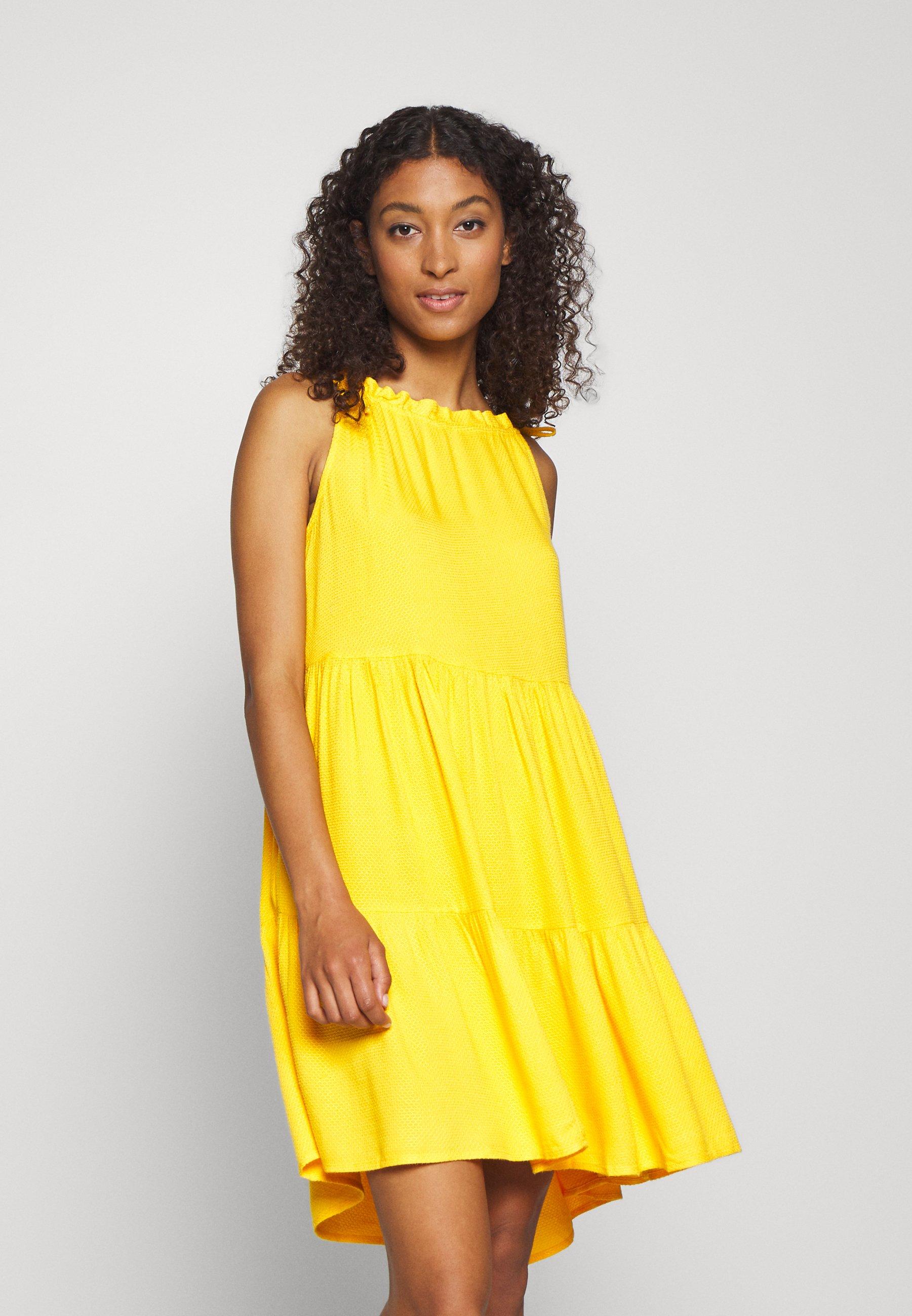 YAS YASSENELA DRESS - Kjole - citrus