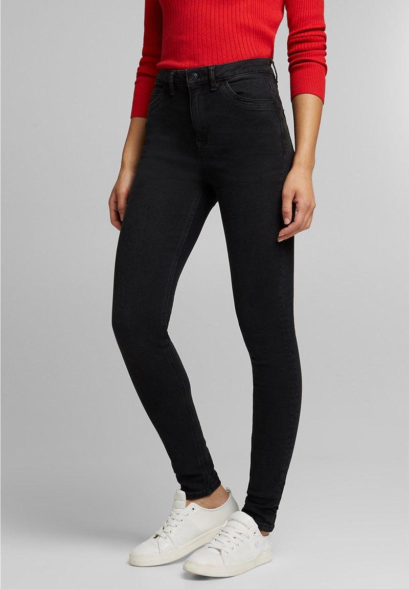 Esprit - Jeans Skinny Fit - black dark washed