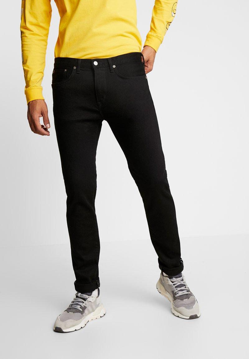Edwin - SLIM TAPERED - Slim fit jeans - rinsed kaihara black