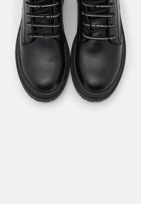 KHARISMA - Lace-up ankle boots - soft nero - 5