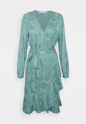 ADELIA WRAP DRESS - Day dress - oil blue