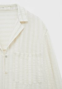 PULL&BEAR - Top sdlouhým rukávem - off-white - 5