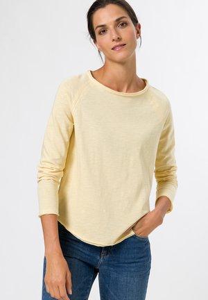 Long sleeved top - vanilla