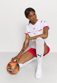 Puma - SCHWEIZ SFV AWAY REPLICA  - Club wear - white/red - 3