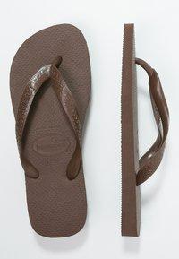 Havaianas - TOP - Pool shoes - dark brown - 3