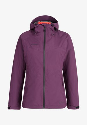 Soft shell jacket - blackberry-spicy