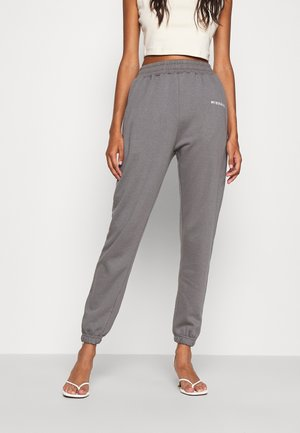 BASIC JOGGER - Tracksuit bottoms - dark grey