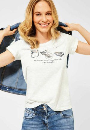 MOTIV - Print T-shirt - weiß