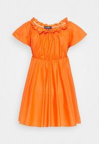 Missguided - BARDOT SKATER DRESS - Kjole - orange - 5