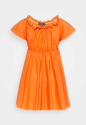 BARDOT SKATER DRESS - Day dress - orange