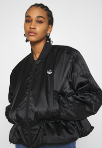 adidas Originals - JACKET - Bomber Jacket - black - 4
