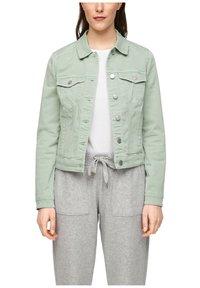 Q/S designed by - Denim jacket - mint - 3