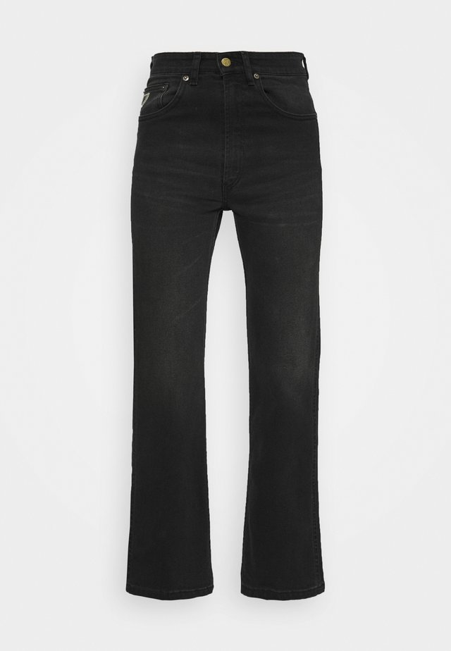 RIVER - Jeans straight leg - black stone